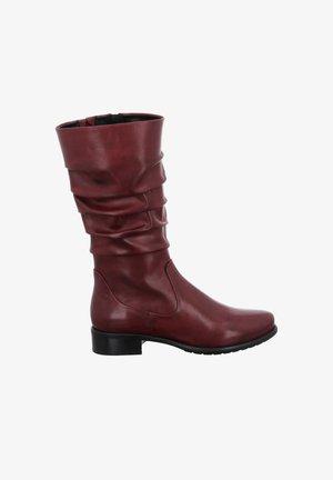 CALLA  - Boots - amarena