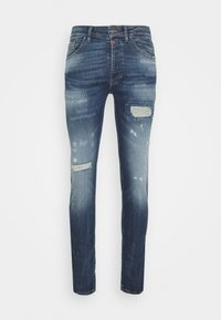 Tigha - MORTEN REPAIRED - Jeans slim fit - mid blue - 4