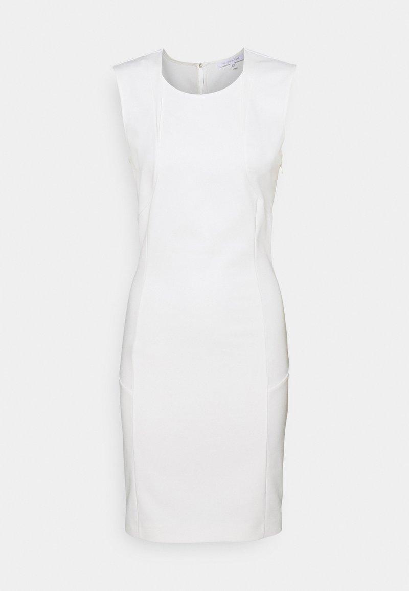 Patrizia Pepe - DRESS - Shift dress - bianco