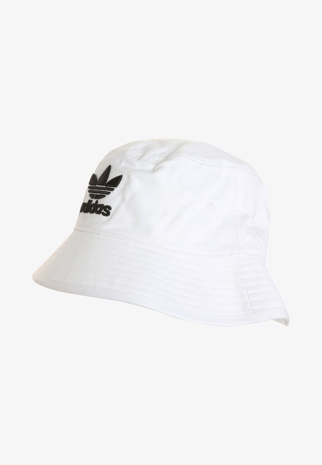 BUCKET HAT UNISEX - Klobouk - white