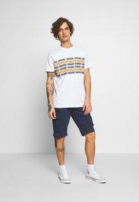 Urban Classics - INKA PATTERN TEE - Print T-shirt - white - 1