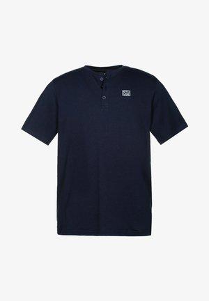 T-shirt basic - dunkel marine