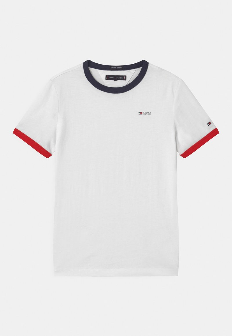 Tommy Hilfiger - RINGER  - T-shirts print - white
