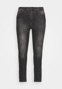 Vero Moda Curve - VMLORA WASH - Jeans Skinny Fit - black denim - 3