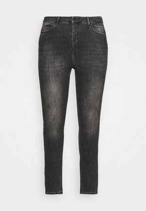 VMLORA WASH - Jeans Skinny Fit - black denim