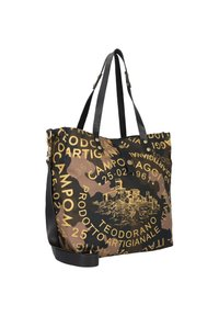 Campomaggi - Tote bag - camouflage+nero+st.oro - 2