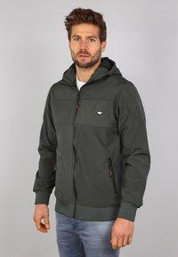 Gabbiano - Zip-up hoodie - army - 0