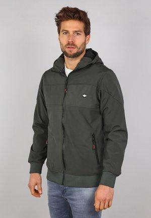 Zip-up hoodie - army