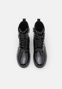 MICHAEL Michael Kors - HASKELL - Lace-up ankle boots - black - 3