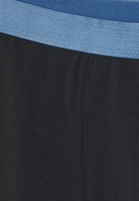 Pier One - 5 PACK - Pants - black/dark grey/red - 7