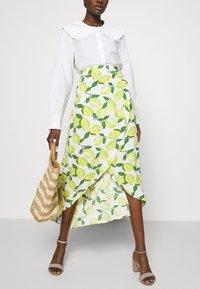 Fabienne Chapot - CORA SKIRT - Wrap skirt - yellow - 3