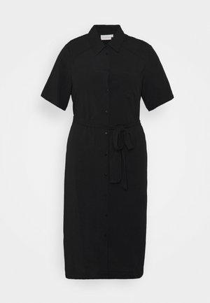 CARVISTALA SHIRT DRESS SOLID - Day dress - black