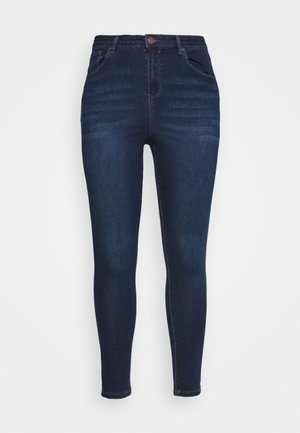 HIGH WAIST - Jeansy Skinny Fit - indigo
