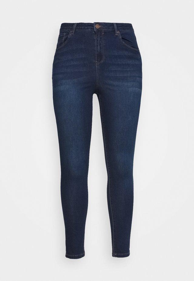 HIGH WAIST - Skinny džíny - indigo