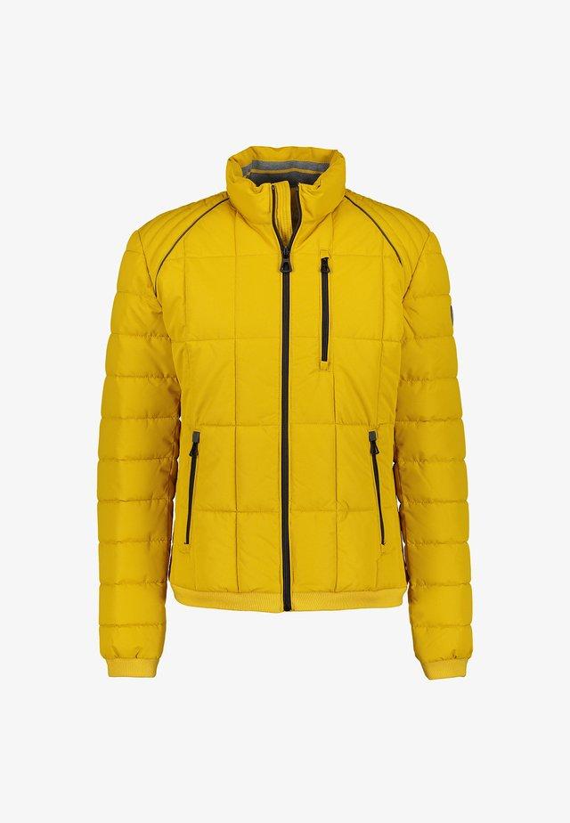 GESTEPPTER BLOUSON - Winter jacket - dark corn yellow