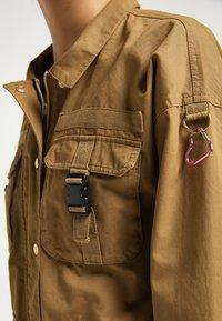 myMo - Light jacket - dunkelsand - 3