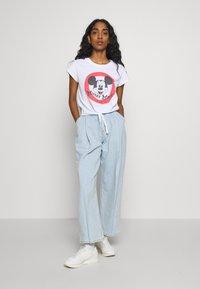 Cotton On - TIE FRONT TEE - Print T-shirt - white - 1