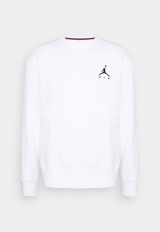 JUMPMAN AIR CREW - Sweatshirt - white/black
