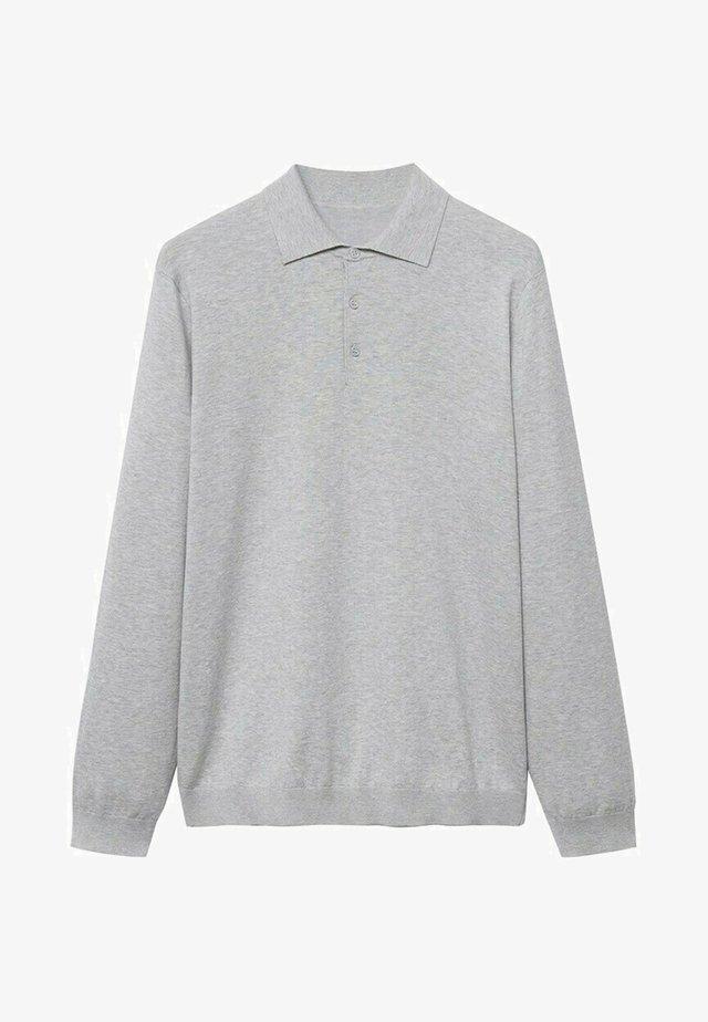 Polo shirt - lichtgrijs