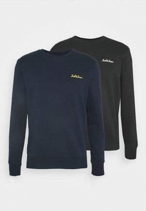 JORWINKS CREW NECK 2 PACK - Sweatshirt - tap shoe/navy blazer