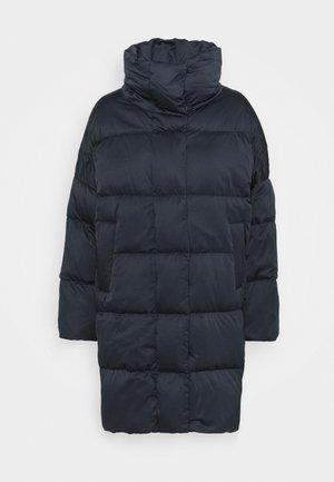 ERA - Kabát zprachového peří - blau
