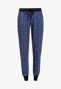 Pussy Deluxe - CAT PAWS & CHERRIES - Tracksuit bottoms - blau allover - 4