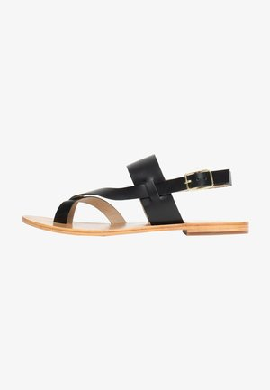 TALLULAH - T-bar sandals - black