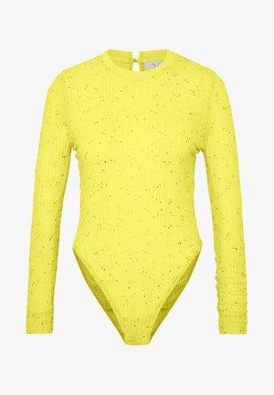 DUA LIPA x PEPE JEANS - Long sleeved top - lemon