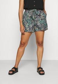 Vero Moda Curve - VMHANNAH  - Shorts - navy blazer - 0