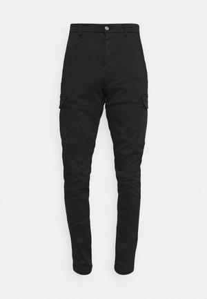 JAAN HYPERCARGO - Pantalones cargo - black