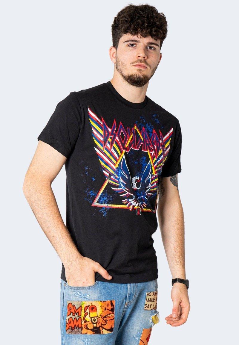 Dsquared2 - STAMPA  - T-shirt imprimé - black