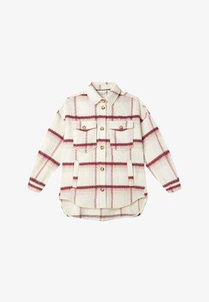Short coat - bordeaux