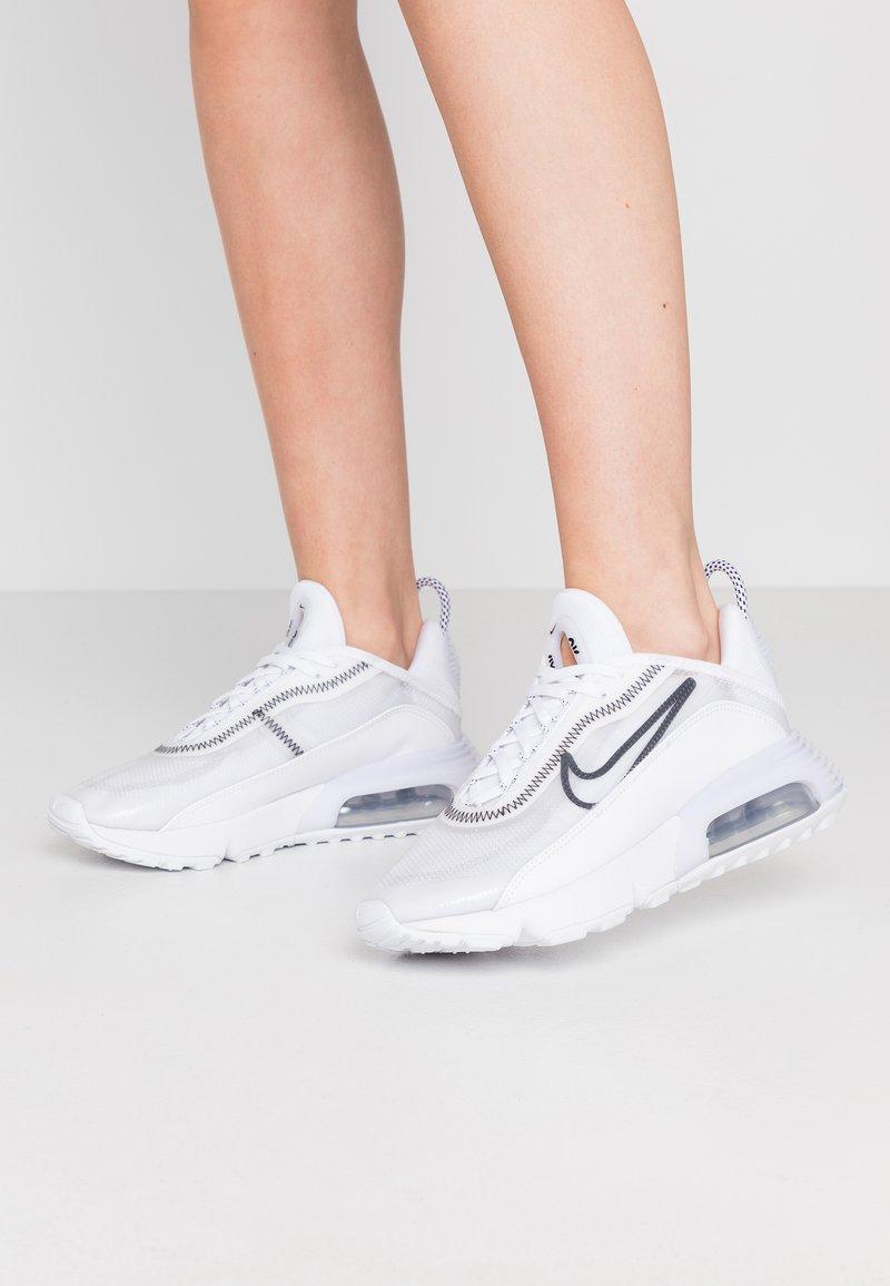 Nike Sportswear - AIR MAX 2090 - Trainers - white/wolf grey/black