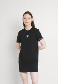 SIKSILK - CORE TECH DRESS - Jersey dress - black - 0