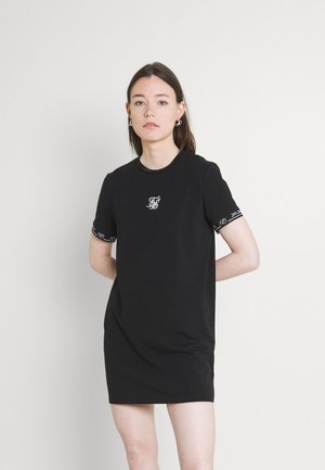 CORE TECH DRESS - Sukienka z dżerseju - black
