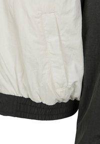 Urban Classics - CRINKLE BATWING  - Training jacket - black/white - 4