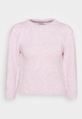 ONLBENIN - Stickad tröja - sweet lilac melange