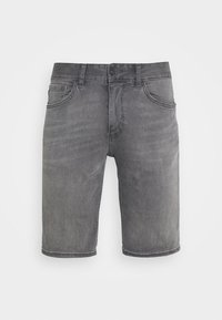 TOM TAILOR - JOSH SUPERSTRETCH - Denim shorts - grey denim - 3