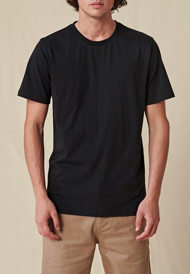 DOWN UNDER TEE - T-shirt basique - black