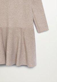 Mango - CECI - Pletené šaty - zand - 2