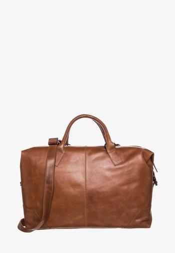 SUPREME DAY - Weekend bag - cognac