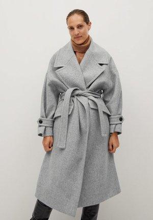 SWEET - Zimní kabát - hellgrau meliert