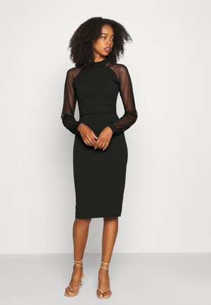 LONG SLEEVE BODYCON - Cocktail dress / Party dress - black
