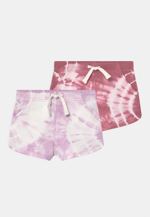 GIANNA 2 PACK - Shorts - very berry/pale violet