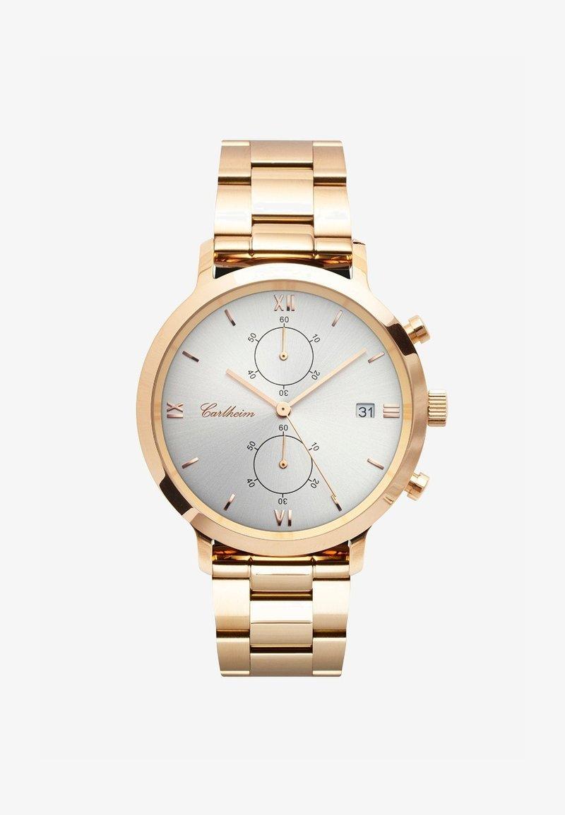 Carlheim - ADLER 42MM - Chronograaf - rose gold-silver
