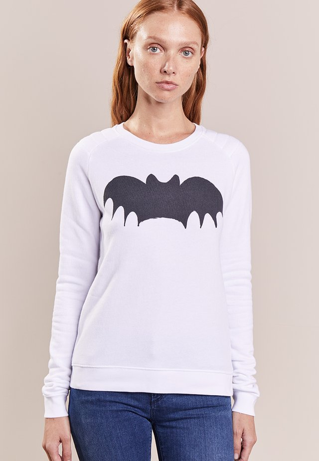 BAT - Sweater - optical white