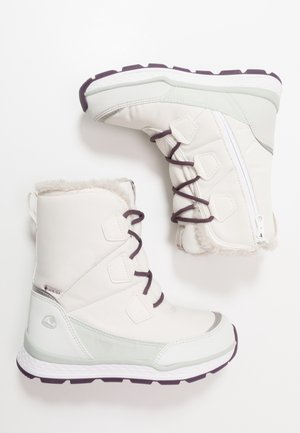 SOLLI GTX - Winter boots - eggshell/light green