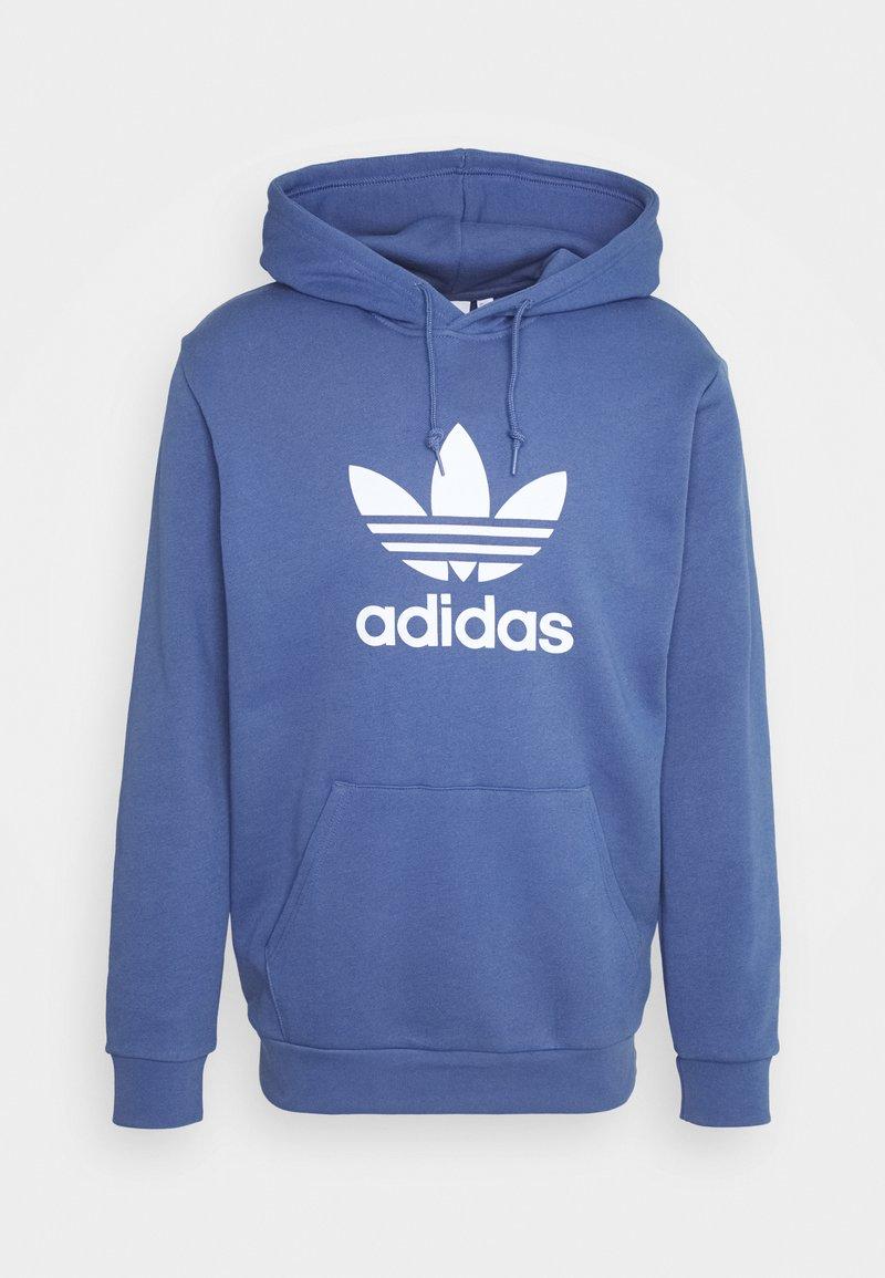 adidas Originals - TREFOIL HOODIE UNISEX - Hoodie - crew blue