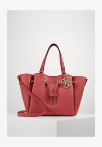 Guess - DIGITAL DRAWSTRING BAG - Handbag - geranium