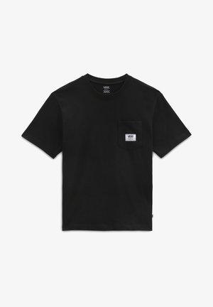WM CLASSIC PATCH POCKET - Basic T-shirt - black